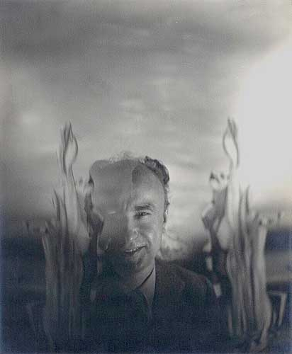 Yves Tanguy [1900-1944], Vintage silver print, ca. 1940.